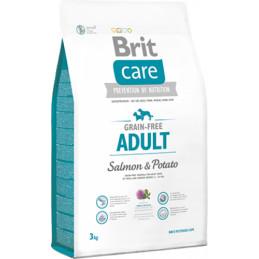 Brit Care Grain Free Adult Łosoś SALMON & POTATO 12kg