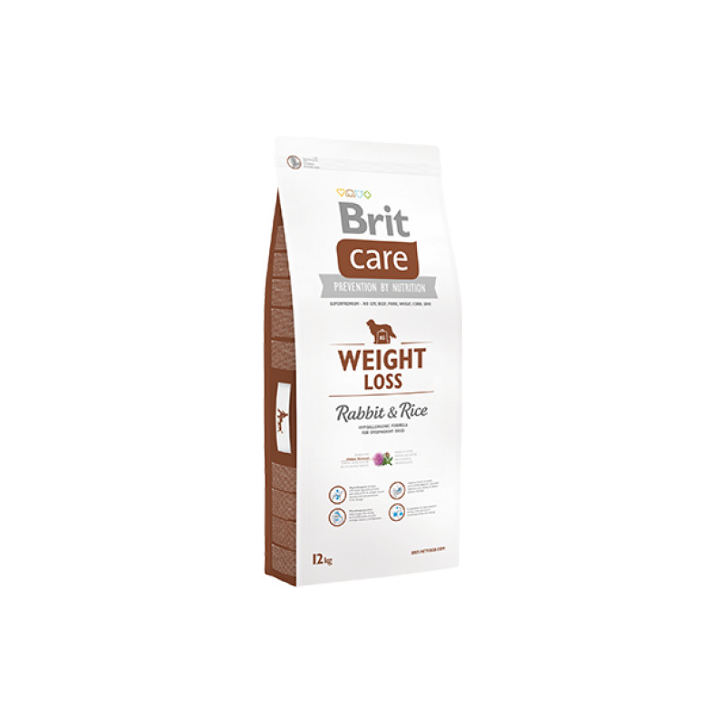 Brit Care Weight Loss Królik RABBIT & RICE 12 kg