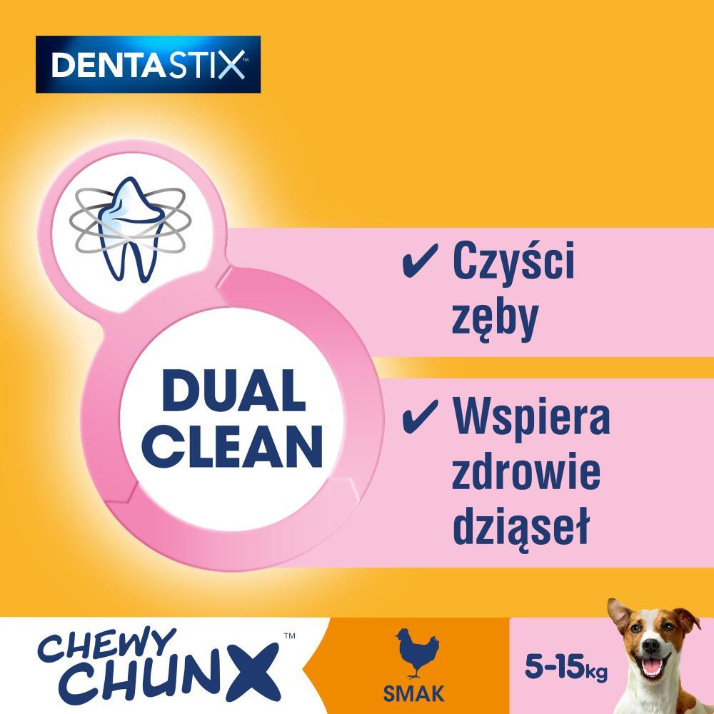 Czyszczące zęby chrupki DentaStix